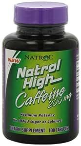High Caffeine - cachets de caféine - 200 mg - 100 comprimés