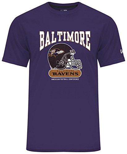 New Era Herren T-Shirt NFL Archie Tee Baltimore Ravens - Purple XXL