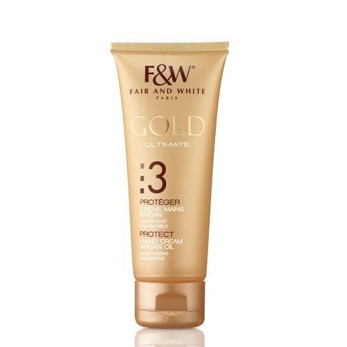 Fair & White Gold Ultimate 3 Protéger Crème Mains à l'Huile d'Argan 75 ml