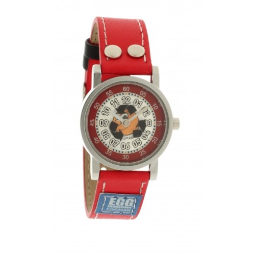 Ei-4042808DDP Kinder-Armbanduhr Analog Quarz Zifferblatt Leder/