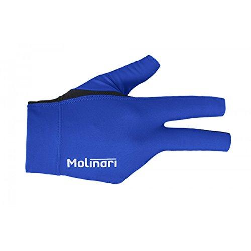 Molinari Billard Handschuh royal-blue, rechte Hand