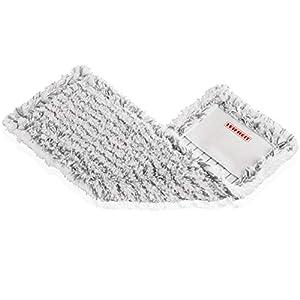 Leifheit Wischbezug Classic aus hochwertiger Microfaser, Bodenwischer Ersatzbezug mit hoher Wasser- & Schmutzaufnahme, waschbarer Wischer Ersatzbezug