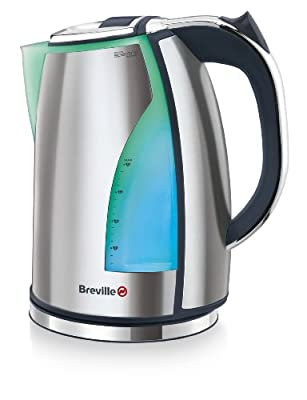 Breville VKJ787X Spectra Bouilloire Eclairage 2200 W 1,7 L Acier
