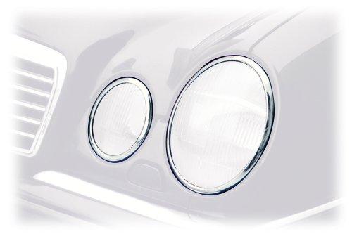 Schätz 2101033 Chrom-Scheinwerferringe für alle E-Klassen W210 Limousinen und T-Modelle