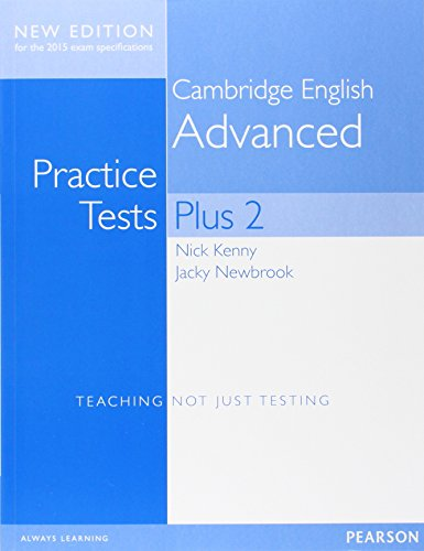 Cambridge advanced practice tests plus. Student's book without key. Per le Scuole superiori. Con espansione online