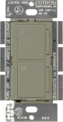 Lutron Maestro Begleiter Dual Dimmer und Fan Speed Control Switch (Lutron-licht-schalter)