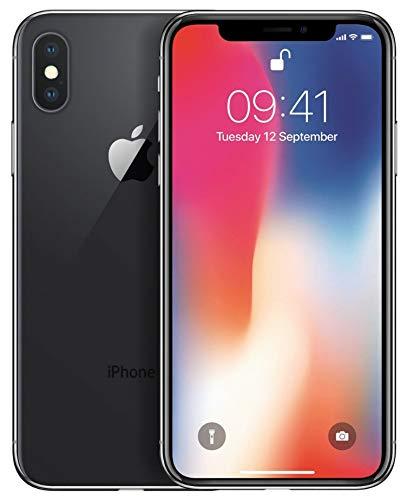 Apple iPhone X 64GB Space Grau (Generalüberholt)