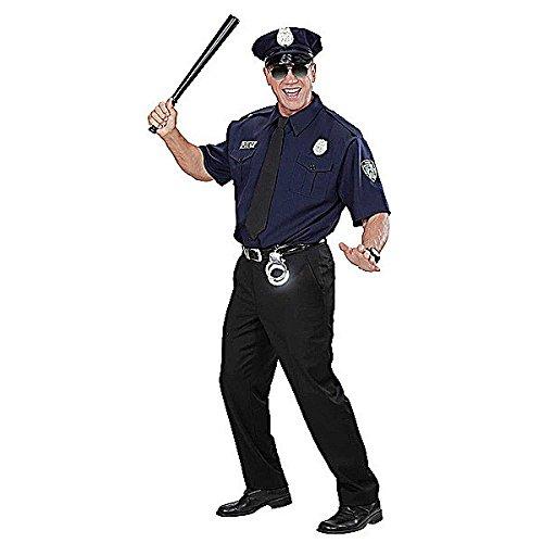 Widmann 1575P Erwachsenenkostüm NYPD Police Officer, Blau/Schwarz, ()