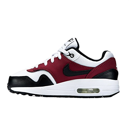 Nike Air Max 1 White Red Blue Kids Trainers Mehrfarbig