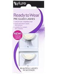 Eylure Activee Glued Corner Eyelashes, Medium
