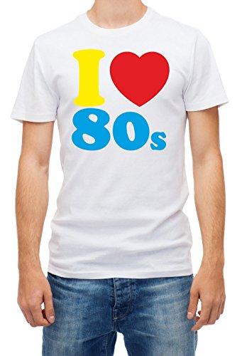 I Love the 80s T-shirt for Men XXL