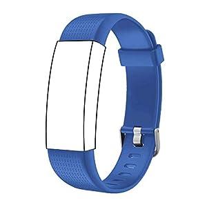 Correa para ID 130 Plus Color HR, Rastreador de Ejercicios Pulsera, Recambio Repuesto Reemplazo Banda de Reloj Ajustable… 12