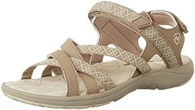 Northland Damen Mia Leather Sandals Sport-& Outdoor, Mehrfarbig (Camel/Sand), 37 EU