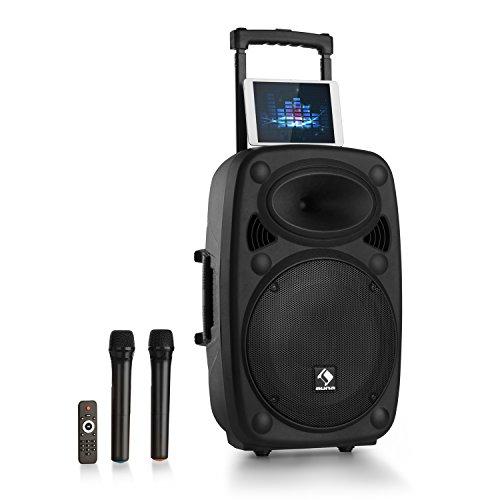 auna Streetstar 15 Equipo de PA portátil • Sistema sonido móvil •...