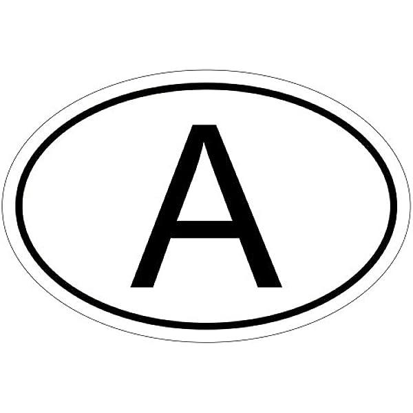Kiwistar Österreich A 10 X 6 6 Cm Autoaufkleber Sticker Aufkleber Kfz Flagge Auto