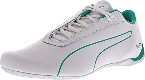 PUMA Men s Mercedes AMG Petronas Future Cat White Spectra Green Ankle-High  Leather Fashion defa9bb8a