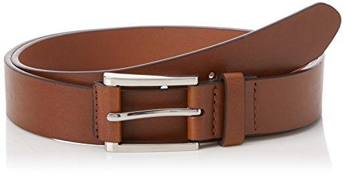 Burton Menswear London Herren Gürtel Tab Detail, Braun, Medium (Tabs Gürtel)