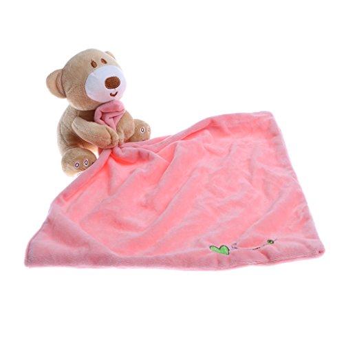 Gazechimp Baby Pucksack schlafsack Pucktuch mit Plüschtiere - Rosa, wie beschrieben