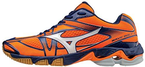 Mizuno WAVE BOLT 6 LOW UOMO V1GA176002 - Scarpe da volley uomo arancio