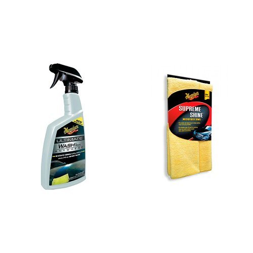 Meguiar's Ultimate Wash & Wax Anywhere mit Supreme Shine Microfiber