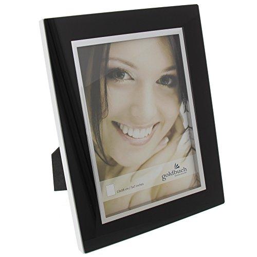 Goldbuch Portraitrahmen, Bella Vista, Für 1 Bild im Format 13x18cm, Metall, Schwarz, 920073