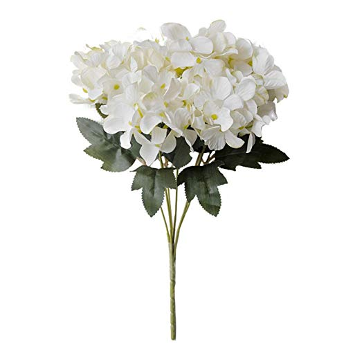 Hutiee Pfingstrosen Künstliche Deko Blumen Unechte Blumen, 6 Strauss Von Schottland Hortensie, Braut Hochzeit Bouquet Für Hausgarten Party Kunststoff Blumendekor