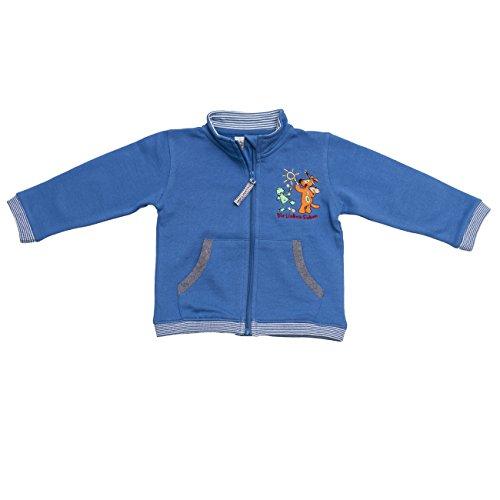Die Lieben Sieben by Salt & Pepper Unisex Baby Sweatshirt L7 Jacket RV, Einfarbig, Gr. 74, Blau (blue 457)