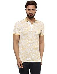Mufti Polo Printed Half Sleeves T-Shirt