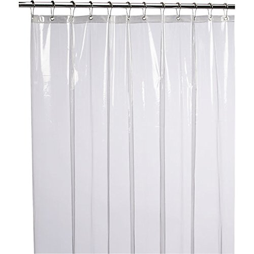 Shower Curtain Liner, PEVA Antimicrobial PVC Free Shower Curtain, Clear Shower Curtain Liner, Milde