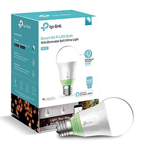 TP link Smart Wi-Fi-LED Leuchtmittel mit dimmbar, weiß, E27, 60W