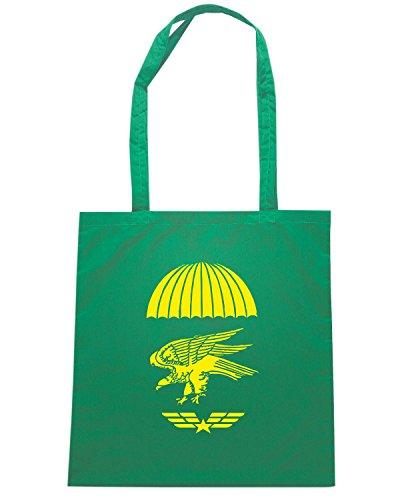 T-Shirtshock - Borsa Shopping T0030B Alpini militari Verde