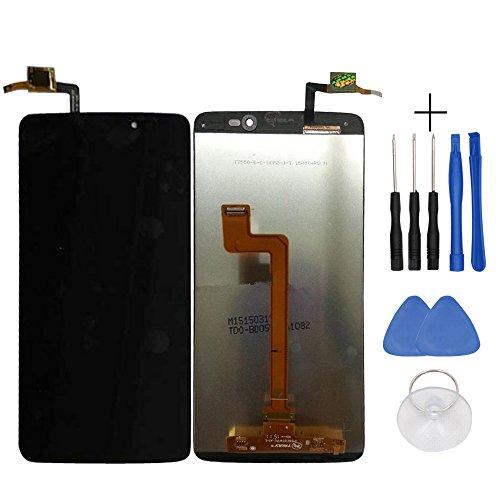 Repair and Replacement LCD Display & Touch Screen Analog-Digital wandler für Alcatel Idol 3 / 6045 / OT6045 Smartphone + Tools - Schwarz