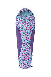 Mountain Warehouse Apex Mini Deckenschlafsack mit Muster. Frühling & Sommer Kinder Schlafsack. Jugend Kleinkind Festival Camping Urlaub Pyjamapartys Rosa