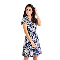 Mela London Women's DARCIE Dress, Multicolour (Multi 207), 10