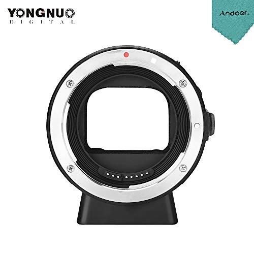 YONGNUO EF-E II Adapterring zur Objektivmontage mit Autofokus für Canon EF/EF-S-Serie & YONGNUO Objektiv kompatibel für Sony E-Mount-Kamera für Sony A6300 A6000 A7MII A7RIII A7