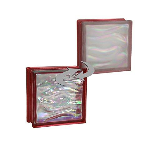6-piezas-bm-bloques-de-vidrio-agua-perla-rubi-satinado-por-un-lado-vidrio-mate-19x19x8-cm