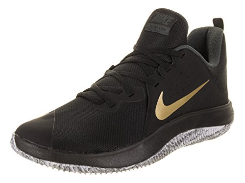 Nike Fly.by Low/Blk-MTLC Gold-Antrct