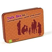 Talk-Box Vol. 7 - Lebensgeschichten - gelebt, erlebt, erzählt: 120 Fragekarten