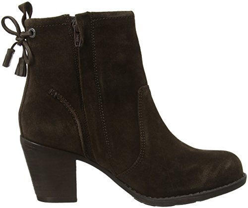 Hush Puppies Damen Beatrice Moorland Stiefel Grey (Chocolate Brown Suede)