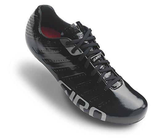 Giro Empire SLX Rennrad Fahrrad Schuhe Schwarz/Silber 2019: Größe: 45.5