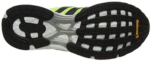 adidas Adizero Adios, Scarpe Running Donna Giallo (Solar Yellow/utility Black/footwear White)
