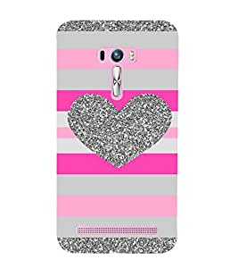 HEART PATTERN Designer Back Case Cover for Asus Zenfone Selfie::Asus Zenfone Selfie ZD551KL