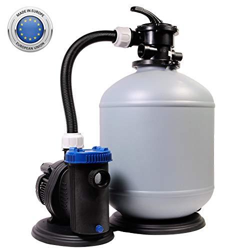 Sandfilteranlage 470/10 Pool Schwimmbecken Sand Filter Filteranlage Pumpe 10m³/h SHOTT International