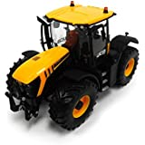 Tomy Farm - Tractor de juguete Fastrac JCB 4220 New, escala 1:32, color amarillo (30693124)