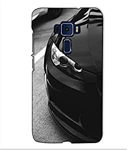 Fuson Designer Back Case Cover for Asus Zenfone 3 Deluxe ZS570KL (5.7 Inches) (A Luxury Car Theme)
