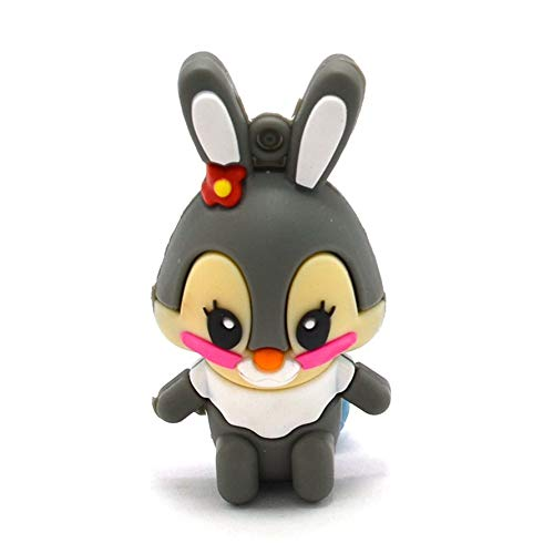HoganeyVan Reizende Nette Anime-Kaninchen-USB2.0-Flash-Laufwerke Memory Stick Pen Drive U Disk (Toy Usb-laufwerk)