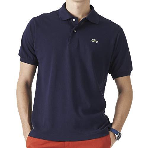Lacoste Herren Regular Fit Poloshirt L1212, Blau (Marine), 3XL (Herstellergröße: 8)