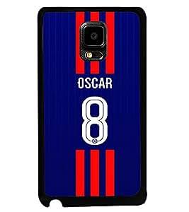 PRINTVISA Football Oscar Case Cover for Samsung Galaxy Note Edge