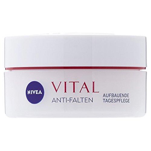 Nivea Vital Anti-Falten Aufbauende Tagespflege, 1er Pack (1 x 50 ml)