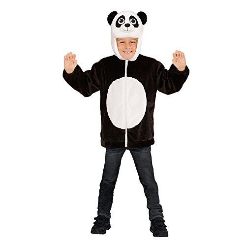 WIDMANN 97476 - Kinderkostüm Panda aus Plüsch, Jacke mit Kapuze und ()